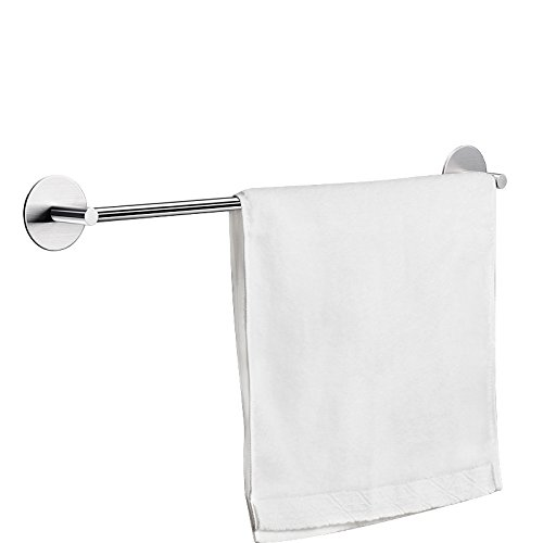 KES Self Adhesive Towel Bar 12-Inch Sticky Wall Hanger Rustproof SUS 304 Stainless Steel for Kitchen Bathroom Brushed Finish, A7001S30-2