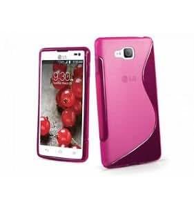 MCI Funda Gel TPU S-Line LG L9 II D605 Color Rosa