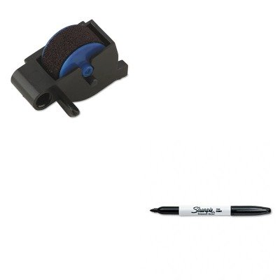 KITDYM47001SAN30001 - Value Kit - Dymo Replacement Ink Roller for DATE MARK Electronic Date/Time Stamper (DYM47001) and Sharpie Permanent Marker ()