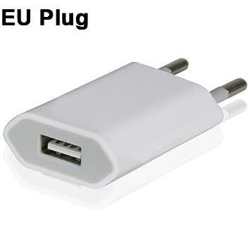 Cargador Enchufe Universal de pared 220 V – USB Universal Blanca 1 ...