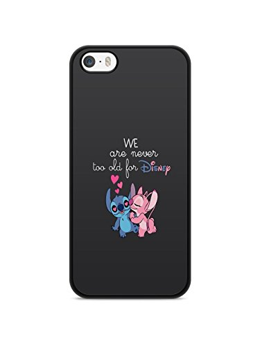 Coque Iphone 7 Lilo Stitch Tortue love Ohana citation Disney case swag REF11983