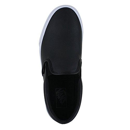 Vans Unisex Klassieke Instap Schoenen Tuimelen Zwart