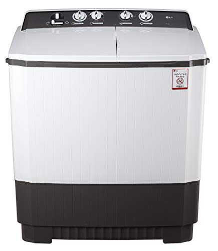 LG 8.5 kg Semi Automatic Top Loading Washing Machine  P9560R3FA, Dark Grey