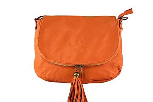 Mujer Arancione Cruzados Bolso M Superflybags Para qXtZwW0