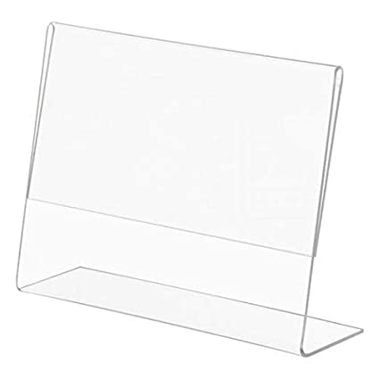 Amazoncom 144 Pack Of 6x4 Acrylic Picture Frames Sign Holders