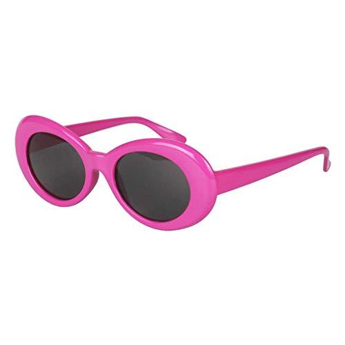 de Amigos Gafas Disfraces Forma Clout Baoblaze Retro Cumpleaños Óvalo Moda Goggles Rosa Sol Fiesta de de SH5Cq