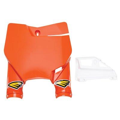Ktm Number Plates - Cycra Stadium Number Plate Orange - Fits: KTM 125 SX 2016-2018