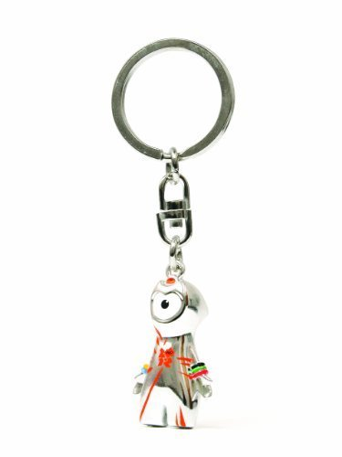 Corgi GS62204 London 2012 Classic Wenlock Die Cast Mascot Key Ring by Hornby Hobbies Ltd