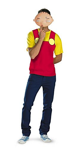 Disguise Family Guy - Stewie Alternative T-Shirt & Mask Costume (42-46) -