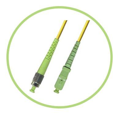 PacSatSales 3M Single-Mode SIMPLEX FC-SC/APC Patch Cable