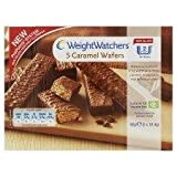 Weight Watchers 5 Caramel Wafers - Pack of 6