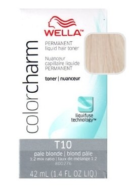 Wella Color Charm Toner - #T10 - Pale Blonde 42 ml (Pack of 6)