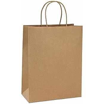 Amazon Com Craft Gift Bags Brown Paper 1 Dozen 10 Quot X