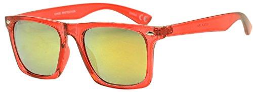 Sunglass Stop Wayfarer Transparent Sunglasses