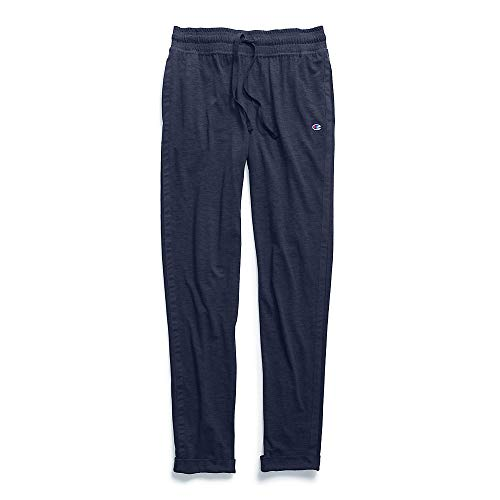 Champion Women's Heathered Jersey Jogger Pant, Imperial Indi