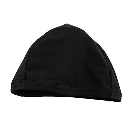 MonkeyJack Quick Dry Cooling Cap / Helmet Liner Hat / Skull Cap / Running Cycling Bicycle Beanie - Ultimate Performance Moisture Wicking Fits for Under Helmets - Black