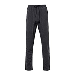 Hurrybuy Mens Casual Autumn Winter Cotton Zipper Sports Trousers Joggers Sweatpants Pants