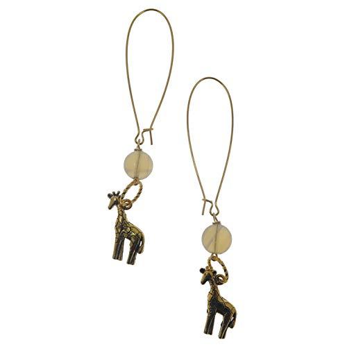 (SatinCrystals Fluorite Earrings 3.5