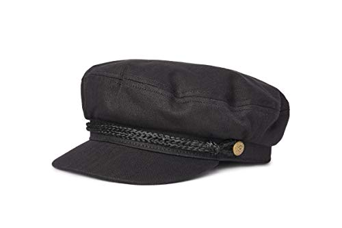 Brixton Mens Fiddler Black Hat,Small