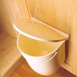 universal 12ltr kitchen cubourd door mounted bin