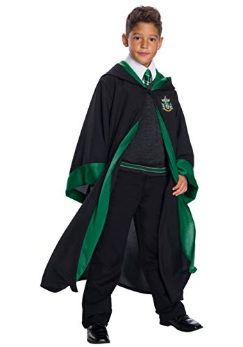 Deluxe Kids Slytherin Student Costume - XL ()