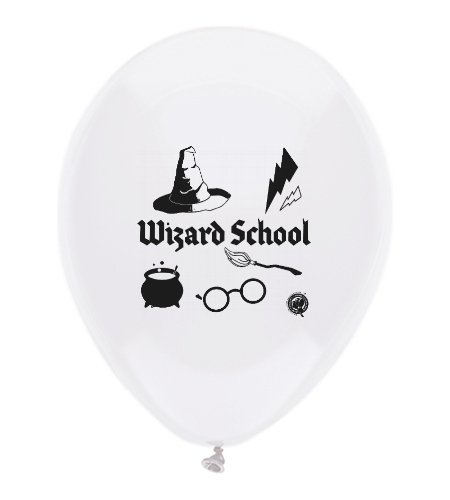 Harry Potter Party Themed Wizard School Theme Latex Balloons 18 Count Made in USA by guarateeing100percentnow (Image #4)