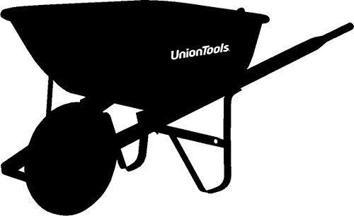 Union Tools  6-Cubic Foot Steel Wheelbarrow - (Union Tools Wheelbarrow)