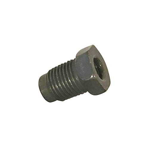 Metric M10 X 1.0 thread 3//16 Line Pack of 10 Inverted Flare Steel Tube Nuts