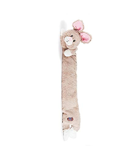 CHARMING Pet Longidudes Plush Dog Toy - Super Long Squeaky Toy - Tough and Durable Interactive Soft Stuffed Toy for Dogs, Rabbit (Chicken Plush Dog Toy)