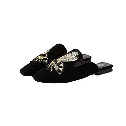 Brodées Sandales pour Black Femmes YUCH qwROxH550