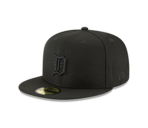 New Era Detroit Tigers MLB Basic 59FIFTY Fitted Cap Black 7 ()