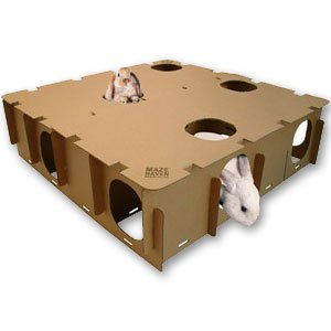 BinkyBunny Maze Haven Rabbit House