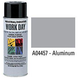 Krylon Industrial Aluminum Work Day Enamel Paint - Lot of 12 by Krylon (Image #1)