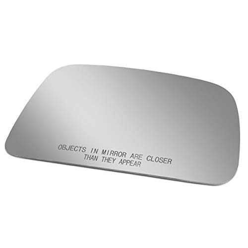 Passenger/Right Side Door Rear View Mirror Glass Lens Replacement for 1995-2000 Toyota ()