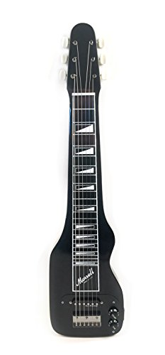 Morrell PLUS Series 6-String Lap Steel Guitar Gloss Black Finish USA by Morrell