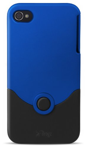 Ifrogz Luxe Original Case - Luxe Original case for iPhone 4 Blue/Black