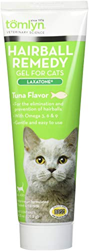 TOMLYN Laxatone in Tuna for Hairball Relief 4.25oz Each (3 Pack)