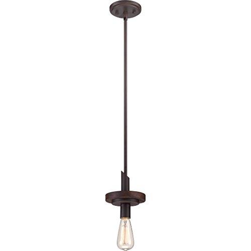 Quoizel TVN1506DK Tavern with Darkest Bronze Finish Rod Hung Mini Pendant (Mini Quoizel Lighting Light Chandelier)