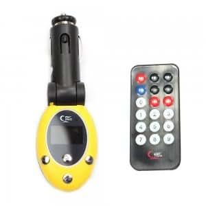 Amazon.com: 2GB Egg Shaped Car MP3 Player FM Transmitter Yellow