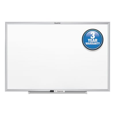 Classic Melamine Whiteboard, 48 x 36, Silver Aluminum Frame, Sold as 1 Each