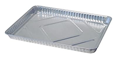 "Durable Packaging 7300-55 Disposable Aluminum Sheet Cake Pan, 17-5/8"" x 12-13/16"" (Pack of 100)"