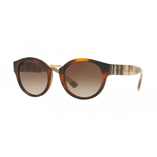 Burberry Womens Sunglasses Tortoise/Brown Plastic - Non-Polarized - - Ladies Sunglasses Burberry