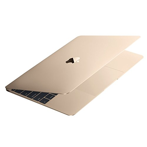 Apple Macbook Retina Display Laptop (12 Inch Full-HD LED Backlit IPS Display, Intel Core M-5Y31 1.1GHz up to 2.4GHz, 8GB RAM, 256GB SSD, Wi-Fi, Bluetooth 4.0) Gold (Certified Refurbished)