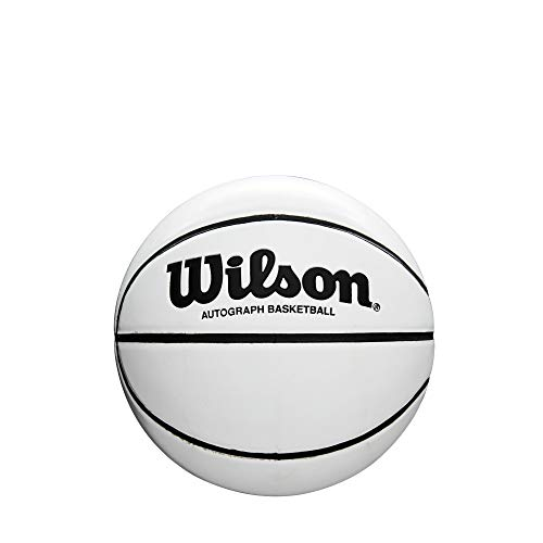 (Wilson Autograph Mini Basketball)