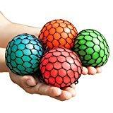 Cheap Mesh Squishy Ball Squeeze Grape Ball Relieve Pressure Ball