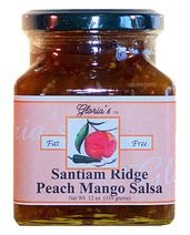 (Peach Mango Salsa By Gloria's Gourmet: (12 Oz Jar))