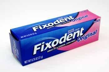 Fixodent Denture Adhesive Cream Case Pack 24