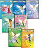 The Jewel Fairies Complete Set, Books 1-7: India the Moonstone Fairy, Scarlett the Garnet Fairy, Emi