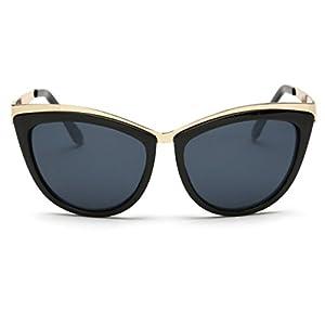 Heartisan Fashion Cat's Eye Lens Full-rim Frame Anti-UV Sunglasses for Women-C1