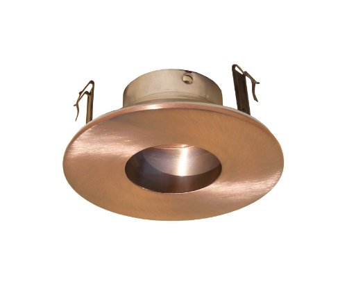 4 Inches Adjustable Pinhole Trim for Low Voltage Recessed Light-(Copper)-Fit - Low Voltage Pinhole Trim